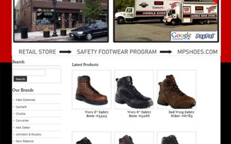 Morris Plains Shoes Website