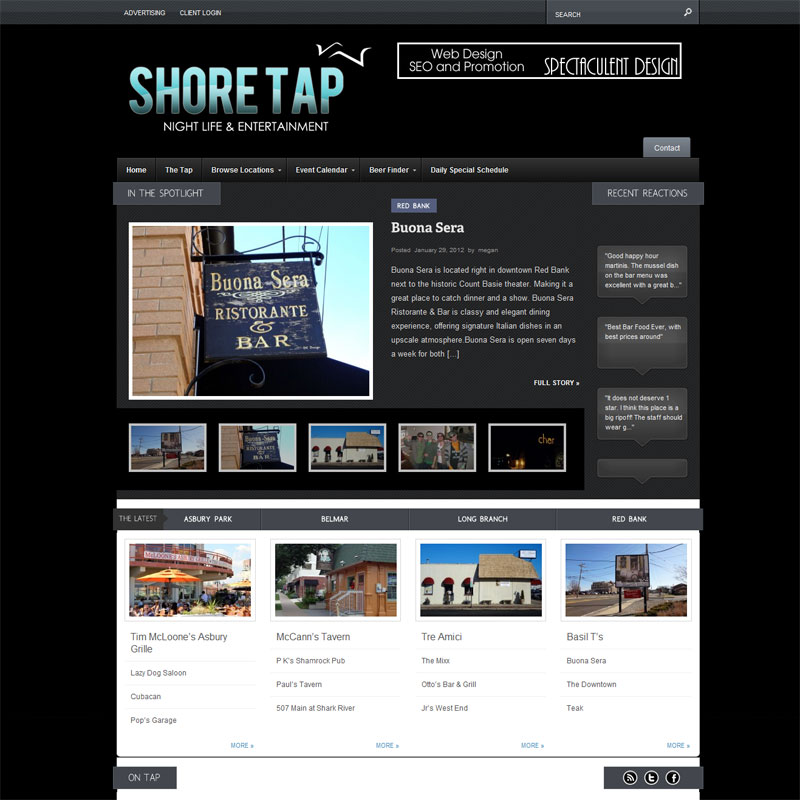Shore Tap Jersey Shore Restaurants Nightlife & Entertainment