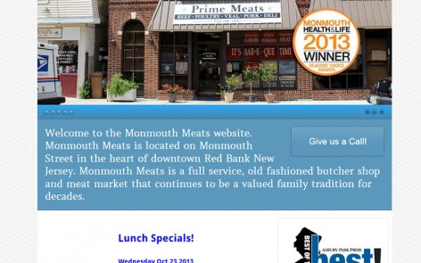 Monmouth Meats Website